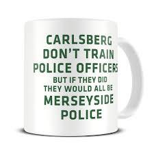 mg269 magoo police force policemen funny coffee mug police officer gifts merseyside police