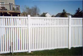 vinyl semi privacy fence. Beautiful Vinyl ColorClay Throughout Vinyl Semi Privacy Fence