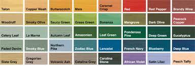 Paint Colour Chart Crown Colour Chart For Sadolin Wood Stain Bedowntowndaytona Com