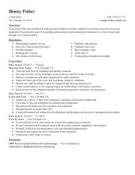 Salon Resume Examples Hair Stylist Resume Examples Hair Stylist ...