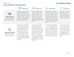 censorship in the libraries guides turnitin com table of contents