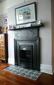 fireplace hearth guard babies pad ideas slate slab