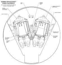 Gemini space craft cabin equipment 2