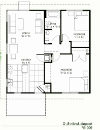 1000 square foot 2 bedroom house plans elegant top 32 new 600 sq feet house plan cottage house plan