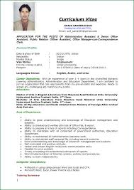 Curriculum Vitae Sample Awesome Cv Job Application Example Curriculum Vitae Sample Resume Cover