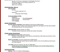 Resume Lofty Design How To Make A Work Resume 12 15 Examples Of