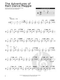 Drum Chart Hits Sheet Music For Drums
