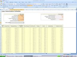 excel amortization templates amortization schedule excel template templates