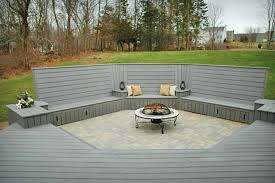 24 Fire Pit Built Into Deck 17 Best Images About Pictures Of Decks