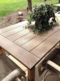 patio table tops project outdoor table by top made from composite decking material plexiglass patio table patio table tops