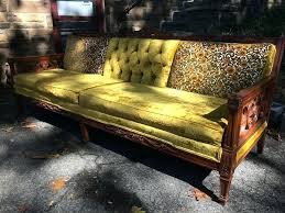 wooden frame sofa yellow wood trim retro couch right angle wood frame couch for wooden frame sofa