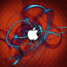 red apple logo wallpaper wallpaper wide hd