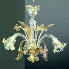small murano glass chandelier 3 lights chandelier transpa gold color chandelier s trina