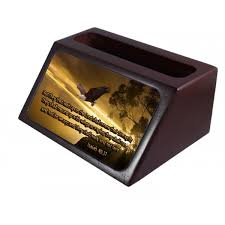isaiah 40 31 business card holder