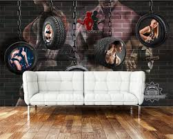 Beibehang 3d Wallpaper Mural Retro ...