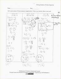 systems of equations elimination method worksheet answers beautiful solving systems equations with 3 variables worksheet worksheets