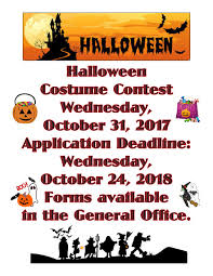 Halloween Costume Contest Application 2018 Indd