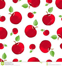 Apple Pattern Cool Seamless Red Apple Pattern Stock Vector Illustration Of Freshness