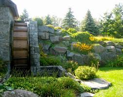 Backyard Retaining Wall Designs Enchanting At Boulder Images We Design Boulder Retaining Walls That Fit Into