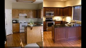 cabinet refacing before and after. Modren Before 31 Kitchen Cabinet Refacing Ideas Before And After Intended And YouTube