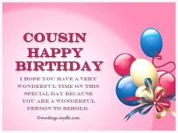 Happy Birthday Cousin Quotes