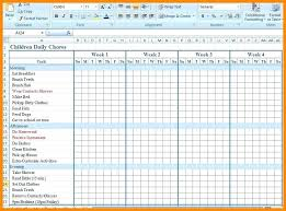 Free Monthly Chore Chart Template Blank Monthly Chore Chart 2018 Writings And Essays Corner