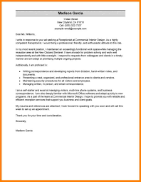 10 Resume Cover Letter Example For Receptionist The Stuffedolive