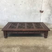full size of popular list low wood coffee table large dark brown rectangle ancient carved designs