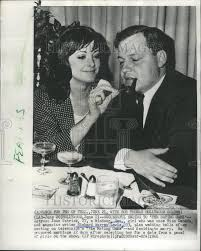 1966 Press Photo Actress Joan Patrick Magazine Writer Richard Warren L |  Historic Images