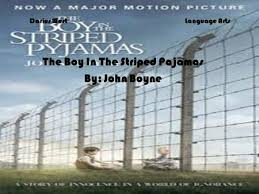 the boy in the striped pajamas by john boyne ppt video online darius westlanguage arts the boy in the striped pajamas by john boyne