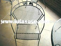 metal mesh patio chairs wire mesh patio furniture steel outdoor metal in chairs e