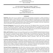 Federal Resume Template Federal Resume Example Fascinating Resume Examples Templates 41