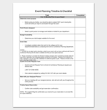 events timeline template event timeline template 7 for word excel ppt pdf format