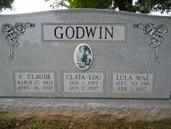 Clata Lou Godwin (1937-1937) - Find A Grave Memorial