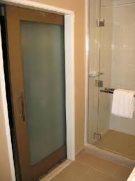 glass pocket doors. frosted glass pocket door to the bathroom picture of jw doors for marriott los angeles la live i