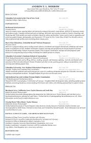 Andrew Ng Resume