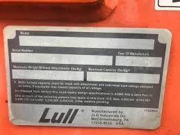 2005 Lull 944e 42 Telehandler