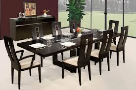 modern expandable dining room table