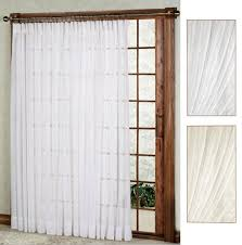 splendor semi sheer pinch pleat patio panel patio door drapes31