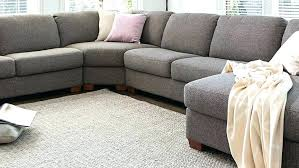 living spaces leather sectional sofa gray sectionals