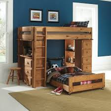 myco furniture ashley loft bed with desk ashley light brown bunk beds 7972