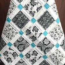 This Hunters Star Is My Favorite Two Color Quilt Be Colorful Quilt ... & Be Colorful Quilts Be Colorful Quilt Patterns Modern Baby Quilt Black White  And Teal Colors Be Adamdwight.com