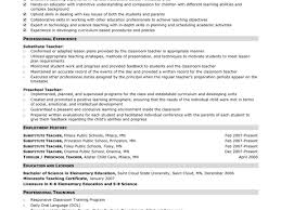 Impressivele Resume For Teachers Job Primary Teacher Fresher Word ...