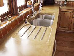 countertops traditional kitchen dallas by absolute concrete artisans