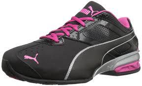 puma shoes pink and black. amazon.com | puma women\u0027s tazon 6 wn\u0027s fm cross-trainer shoe fitness \u0026 cross-training puma shoes pink and black