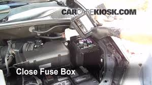 replace a fuse 2004 2009 lexus rx350 2008 lexus rx350 3 5l v6 6 replace cover secure the cover and test component