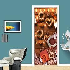 wall art letters wood violin carving living room bedroom decor door sticker mural waterproof wooden wall art