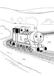 Thomas Train Coloring Pages Printable Desudesuorg