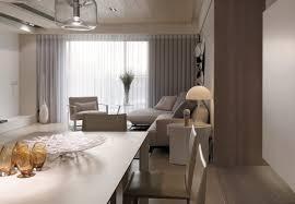 Neutral Contemporary Apartment By W C H Design Studio