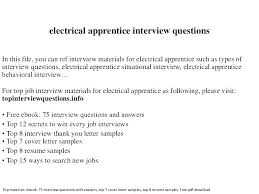 Journeyman Electrician Cover Letter Sample Electrician Cover Letter ...